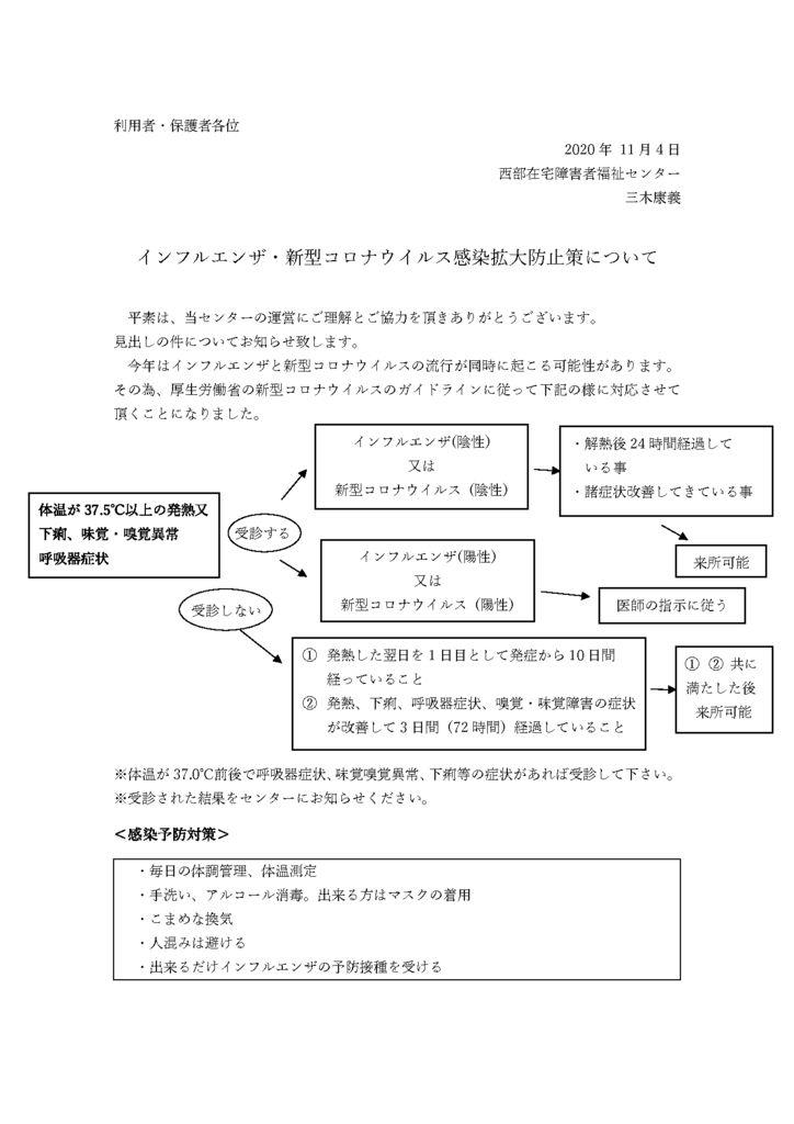 インフル・コロナ感染拡大防止チャートpdf.docxのサムネイル